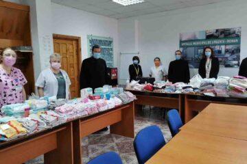 Donație din partea Protopopiatului Roman pentru Secțiile Neonatologie și Pediatrie din cadrul Spitalului Roman