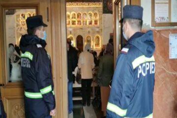 ISU Neamț: au fost controlate 38 de unități de cult – 214 nereguli, 175 avertismente, amenzi în cuantum de 8000 lei