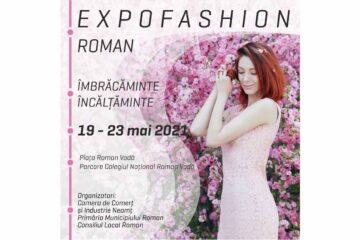 Salonul EXPOFASHION Roman va fi organizat în Piața Roman Vodă – parcarea din fața Colegiul Roman Voda
