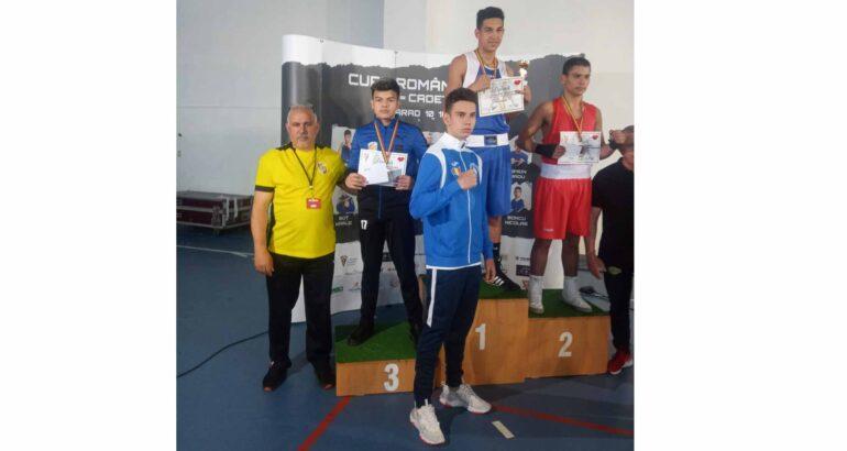 Medalii obținute de sportivii secției Box a C.S.M. Roman la Finala Cupei României – Cadeți