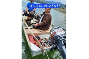 Ambarcațiunea, un motor de ambarcațiune și o plasă de pescuit tip monofilament au fost confiscate