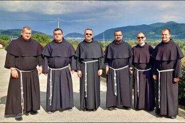La Roman, vor fi hirotoniți întru preoție șase frați franciscani conventuali