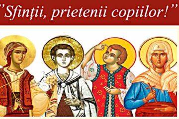 """""""Sfinții, prietenii copiilor!"""" – o acțiune a Protopopiatului Roman pentru copii din Roman și zona Roman"""