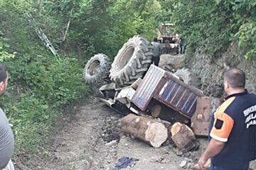Accident mortal – un tractor s-a răsturnat peste un bărbat