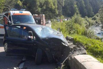 Accident rutier grav, în Neamț; o femeie, implicată în accident, a murit la spital