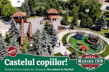 """O terasă deosebită și """"Castelul copiilor"""", investiții noi la Mariko Inn Roman. Invitația este pentru toată lumea"""