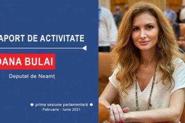 """Deputat Oana Bulai: """"Emoția reprezentării voastre în forul legislativ al țării este una puternică!"""""""