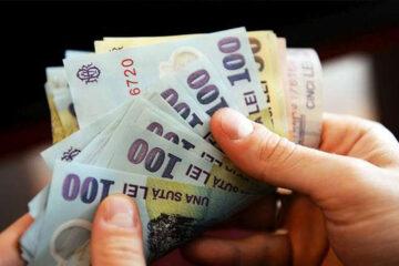 În Neamț, câștigul salarial mediu nominal brut a fost de 4.526 lei/salariat, iar cel net de 2.770 lei/salariat