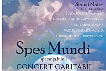"""Eveniment, la Roman: concert caritabil """"Spes mundi – Speranța lumii"""" la Biserica """"Sfânta Tereza a Pruncului Isus"""""""
