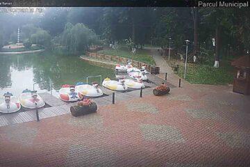 Lacul, principala atracție din Parcul Municipal Roman; peste 110.000 lei, încasări din activitățile de agrement